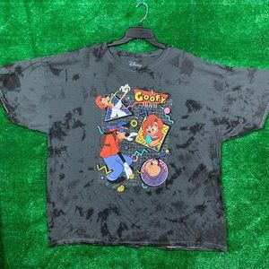 Disney Goofy Vtg Style Tie Dye Tee 3XL